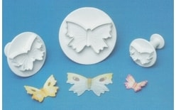 Plunge cutter with a spring Butterfly - 3 pc.
