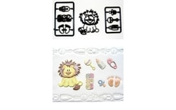 Patchwork Baby Lion & Nursery Items