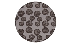 Impression and embossing mat - Swirl Design