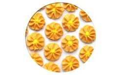 Sugar decorations - Gerberas 28 pc. orange