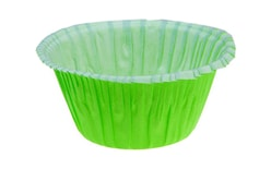 Muffin cases self-supportiing - green 50 pc.