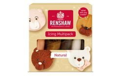 Renshaw Fondant Pro Multipack - Natural Colours- 5x100g