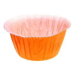 Muffin cases self-supporting - orange 50 pc.