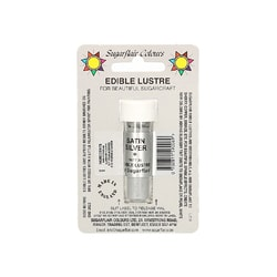 Dust lustre colour Satin Silver
