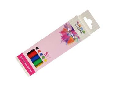 Brush Food Pen Primary Set - 5 colours