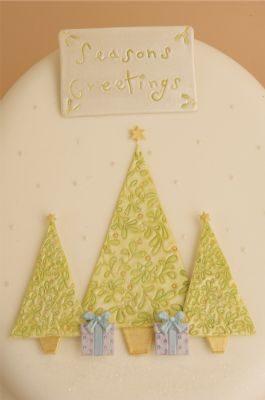Patchwork vytlačovač Vánoční stromky