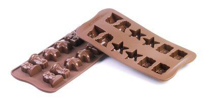 Forma na čokoládu - Vánoce