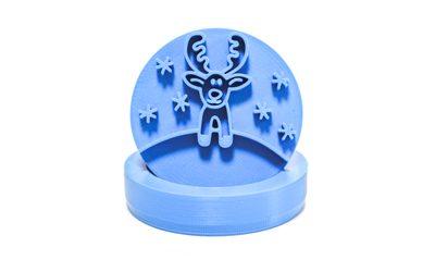 Plastové 3D vykrajovátko Sobík - 5 cm