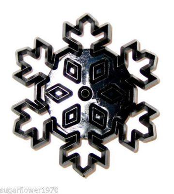 Patchwork vytlačovač Velká sněhová vločka - Large Snowflake