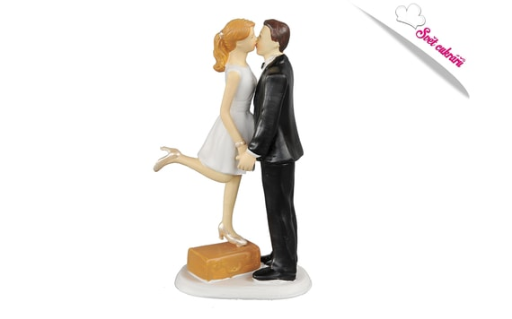 WEDDING CAKE TOPPERS - BEFORE THE HONEYMOON