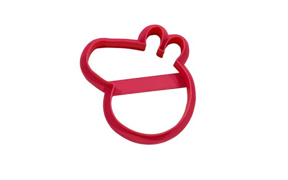 COOKIE GINGERBREAD CUTTER PEPPA PIG 7,6 X 7 CM - 3D PRINT
