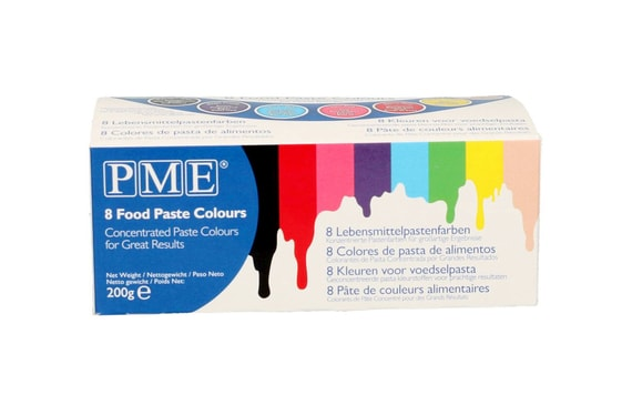 SET OF COLOURS PME - 8 PC.