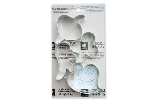 SET OF DOUGH CUTTERS - LEAVES