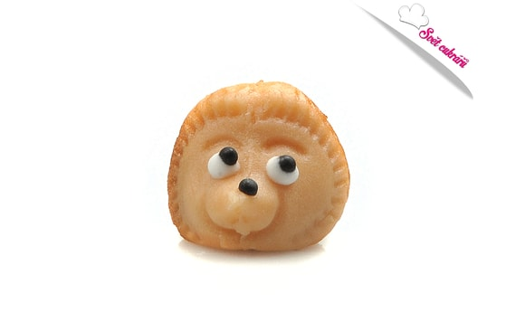 LITTLE HEDGEHOG - SMALL ANIMALS - MARZIPAN CAKE TOPPER