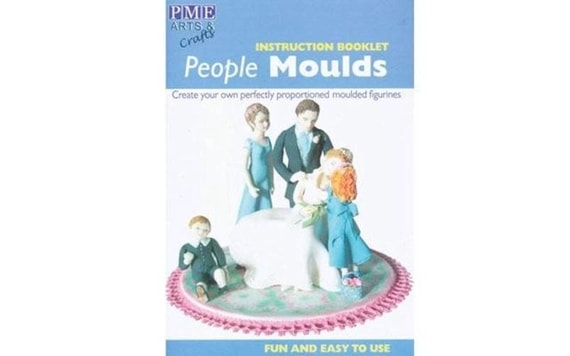 INSTUCTION BOOKLET PEOPLE MOULDS