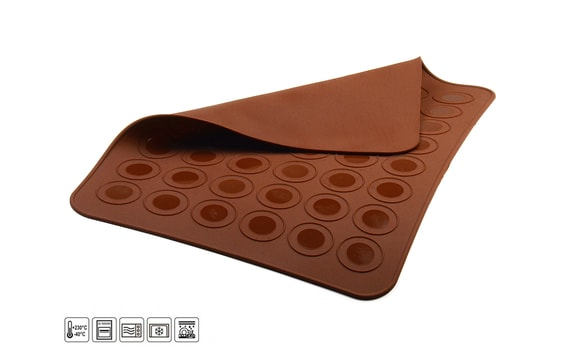 SILICONE MOULD SHEET FOR MACAROONS