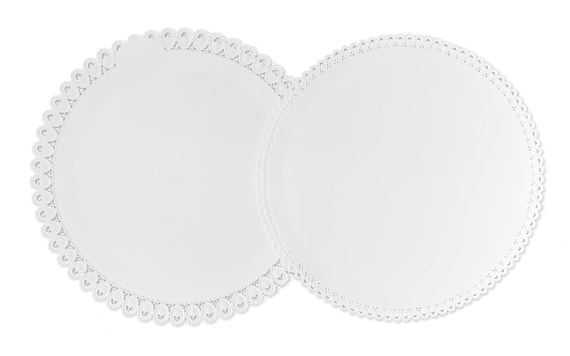 CAKE BOARD 35 CM WITH A LACE RIM