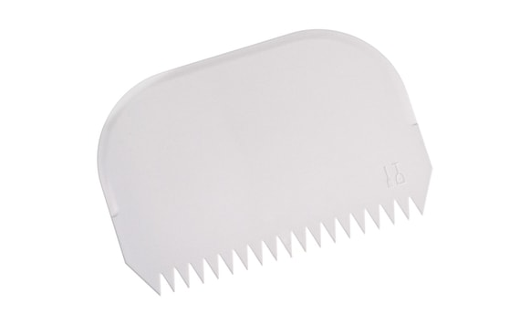 CONFECTIONERY SIDE SCRAPER SERRATED