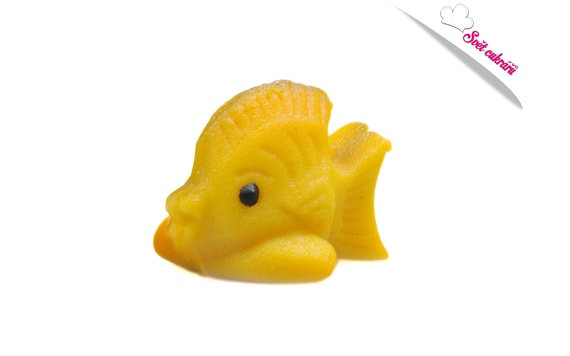 LITTLE FISH - SMALL ANIMALS - MARZIPAN CAKE TOPPER