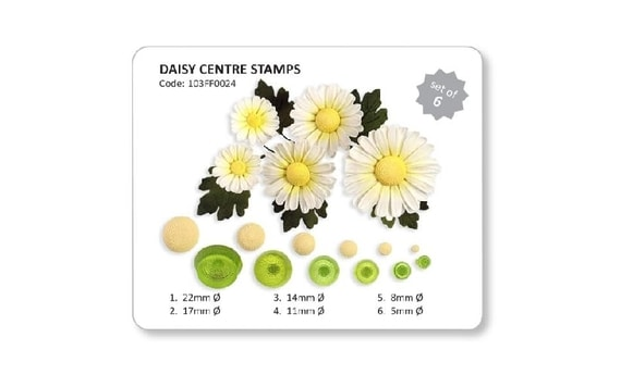 SET FOR FLOWER CENTRES (DAISY CENTER STAMPS)