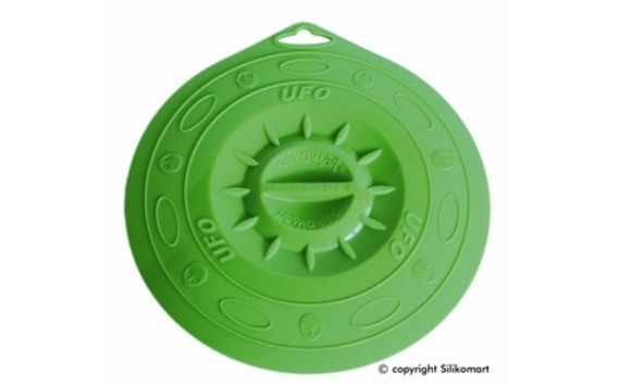 MAT AND POT LID UFO GREEN