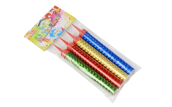 FOUNTAIN FIREWORK FOR A CAKE, VARIOUS COLOURS - SET OF 4 PC.