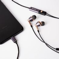 1MORE Triple Driver In-Ear, Lightning (iOS), Gold (používáno)