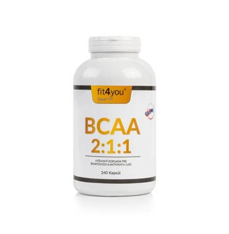 Fit4You BCAA 2:1:1 240 kapslí