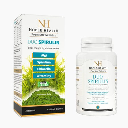Duo Spirulina (120 tablet)
