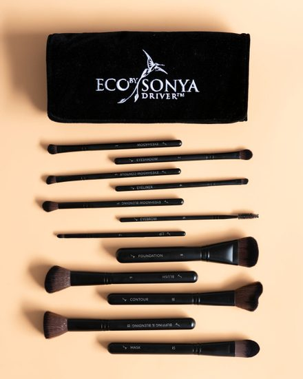 Luxusní sada make-up štětců Vegan Brush Collection