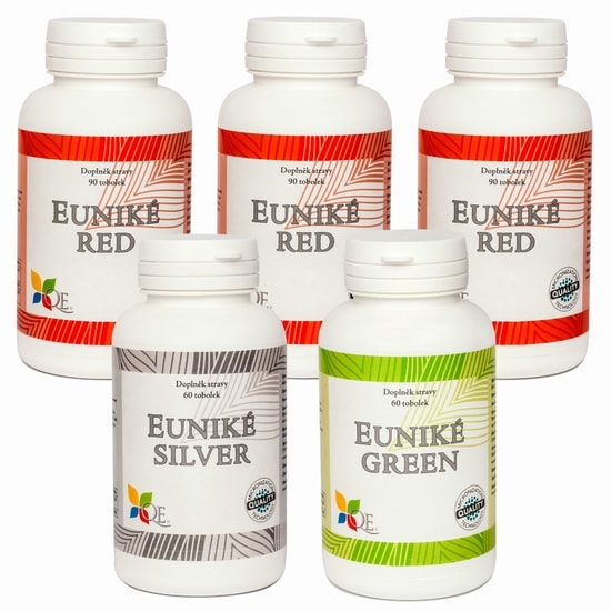 Euniké For Woman / Chlorella (390 tobolek)