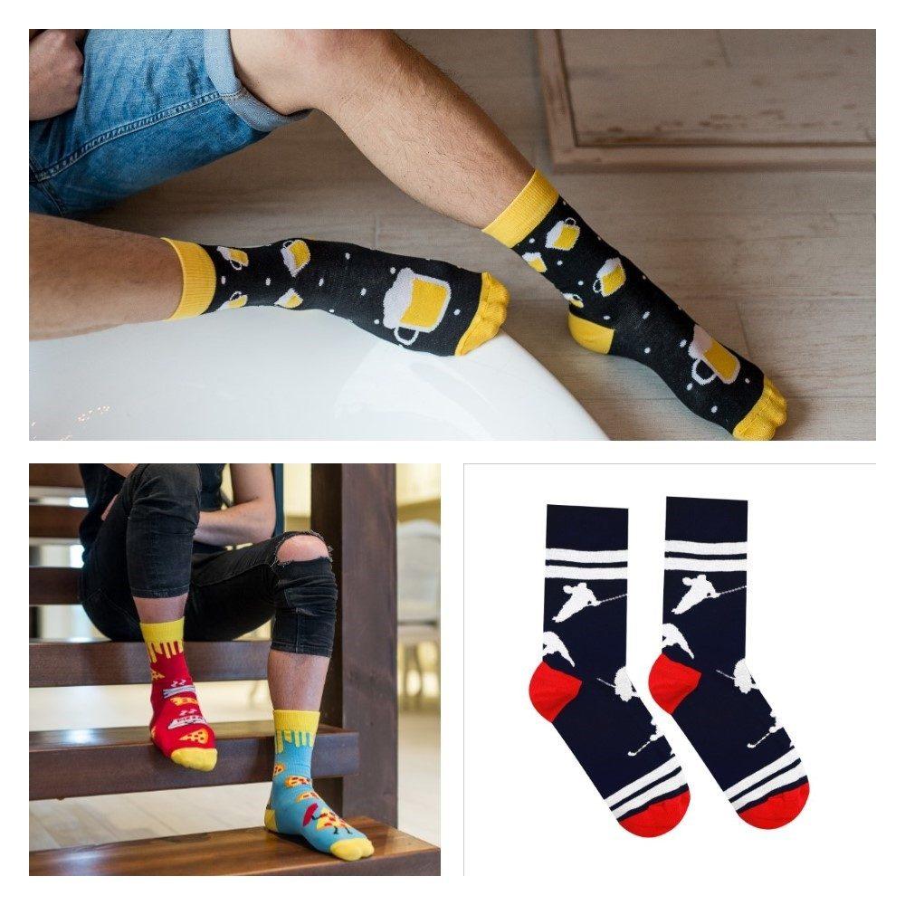 veselé pánske ponožky