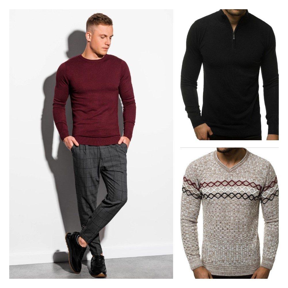 moderné pánske svetre