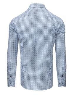 59f9a5d813f3 Čierna bavlnená pánska košeľa Essential Life - Budchlap.sk
