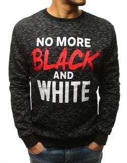 bdf43b390dd6 -51% Perfektná mikina v čiernej farbe ...
