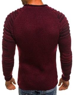41937c1c4111 ... Pohodlný sveter MADMEXT 2035 v bordovej farbe
