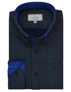 89a2506d8657 Skladom Granátová pánska košeľa V287 Granátová pánska košeľa V287