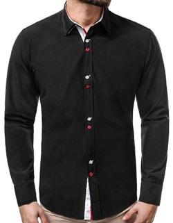 c7b7335688fc Skladom Originálna čierna košeľa ZAZ 1320X ...