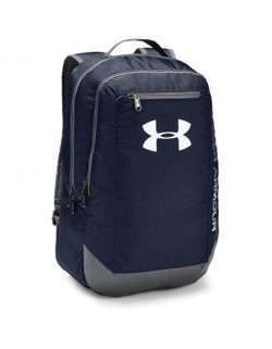 Tmavo modrý batoh UNDER ARMOUR HUSTLE BACKPACK