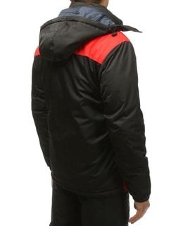 d7ca8d5042f79 ... Lyžiarska bunda čierno-červená