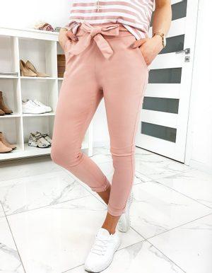 svetlo ružové dámske nohavice