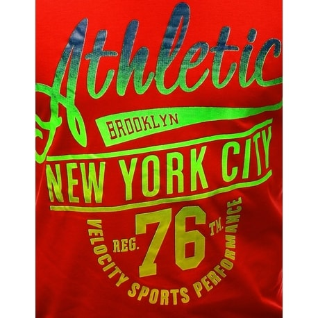 Červené tričko ATHLETIC New York