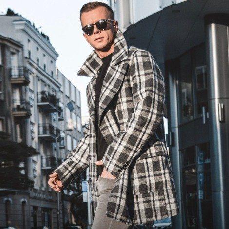 trendy pánsky kabát
