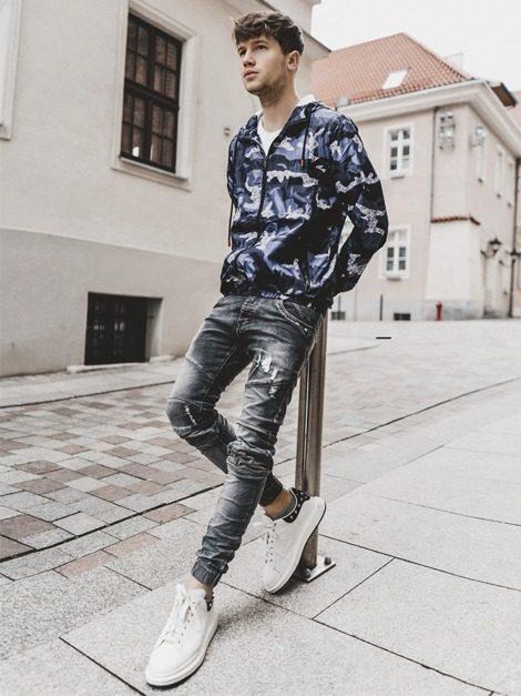 pánske oblečenie s maskáčovým vzorom