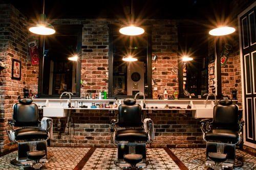 pánsky barber shop