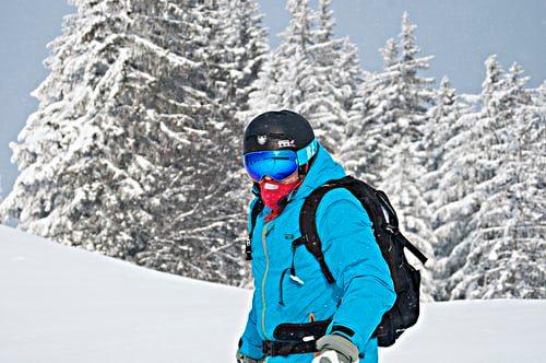 zimná športová pánska bunda