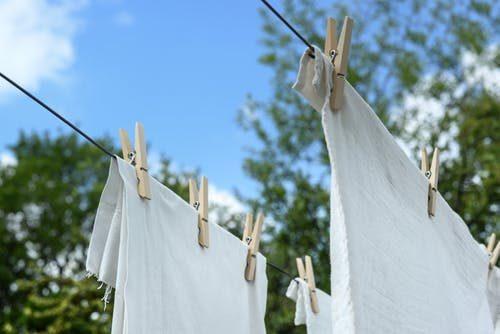 vešanie prádla