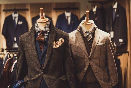 pánske vlnené sako