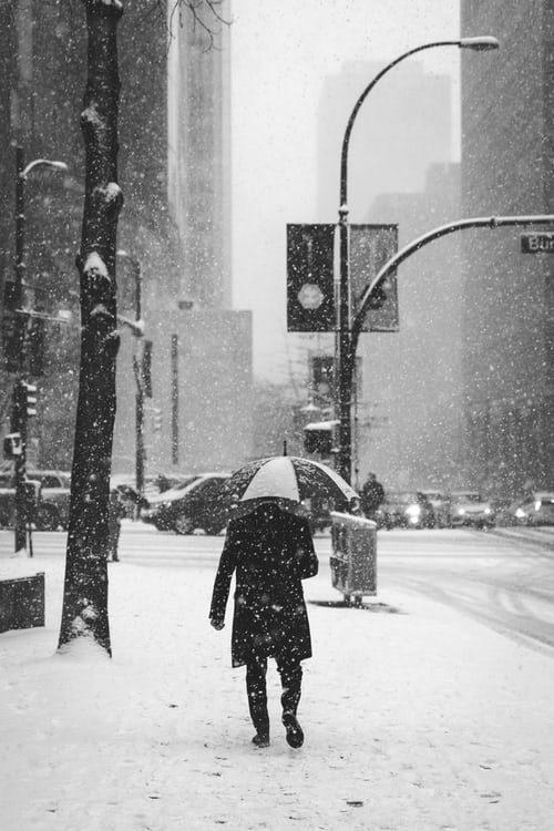 pánsky outfit na zimu
