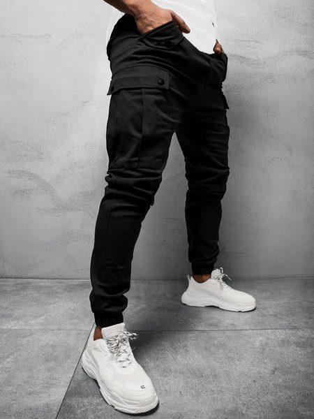 Originálne čierne joggery A/1005